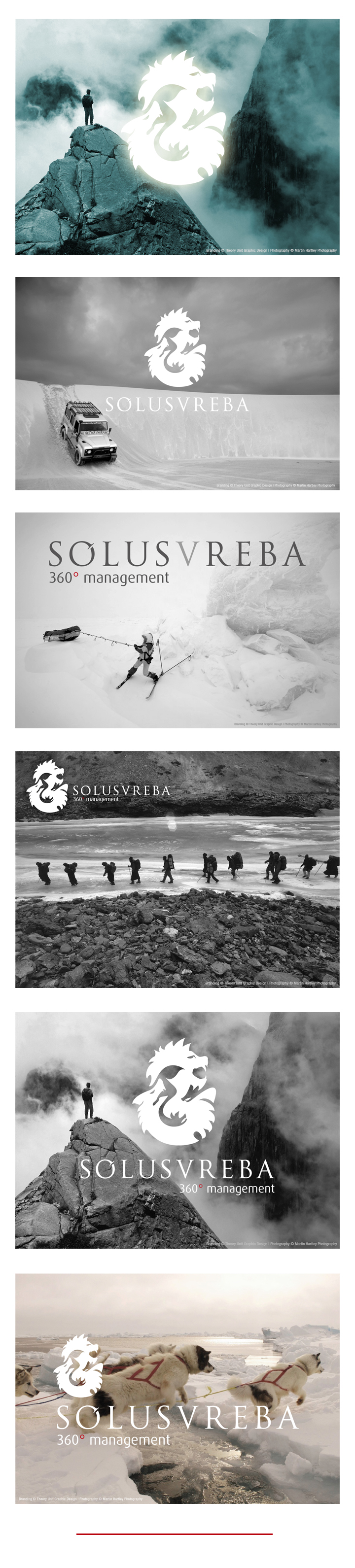 Solusvreba Adventure Management - Branding by Theory Unit in Sherborne