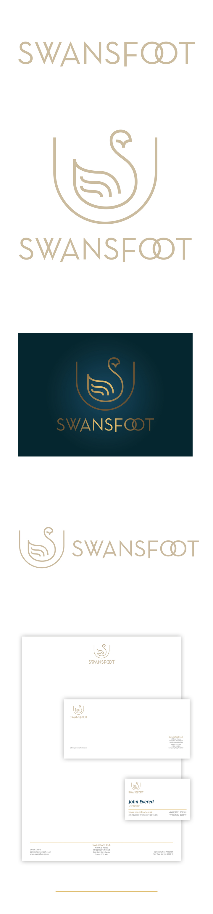 Swansfoot Brand - Theory Unit Graphic Design and Website Development