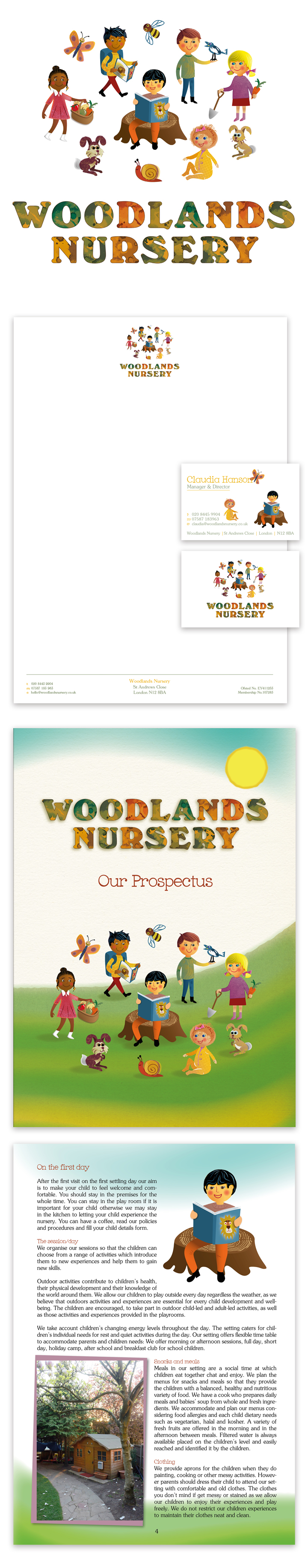 Woodlands Nursery Logo London