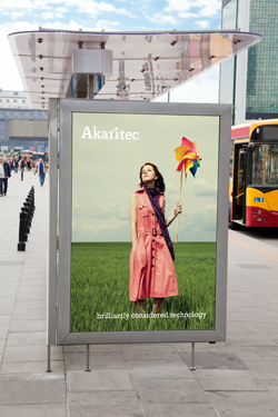 Akaritec Billboard Advert by Theory Unit Graphic Design