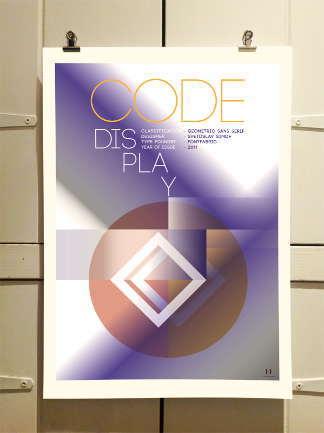 Code Typography Poster by Thepry Unit Graphic Design
